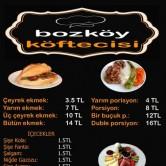 Bozköy Köftecisi, Uncubozköy Menü Sayfa 1