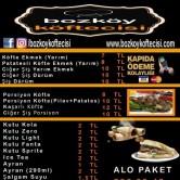 Bozköy Köftecisi, Uncubozköy Menü Sayfa 3