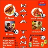 Kaya Tantuni, Laleli Menü Sayfa 5