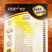 Corner Cafe, 4 Eylül Menü Sayfa 1