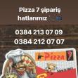 Pizza7, 2000 Evler Menü Fotoğrafı Küçük